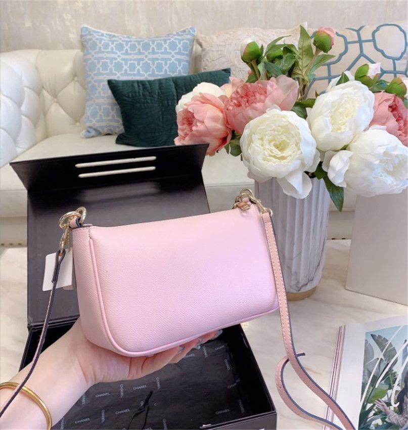 Color Fashion Designer Shoulder Bag Mensageiro Crossbody Zip bolsa Crescent Bag CFY2004014 / *