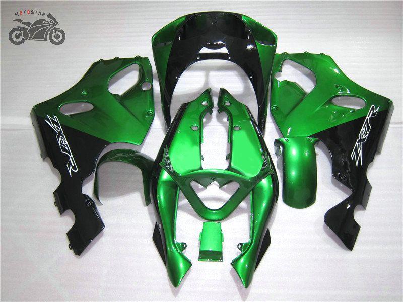 Motorcycle Chinese Fairing kit for Kawasaki Ninja ZX7R 96 97 98 99 00-03 ZX7R 1996-2003 green road racing fairings bodywork