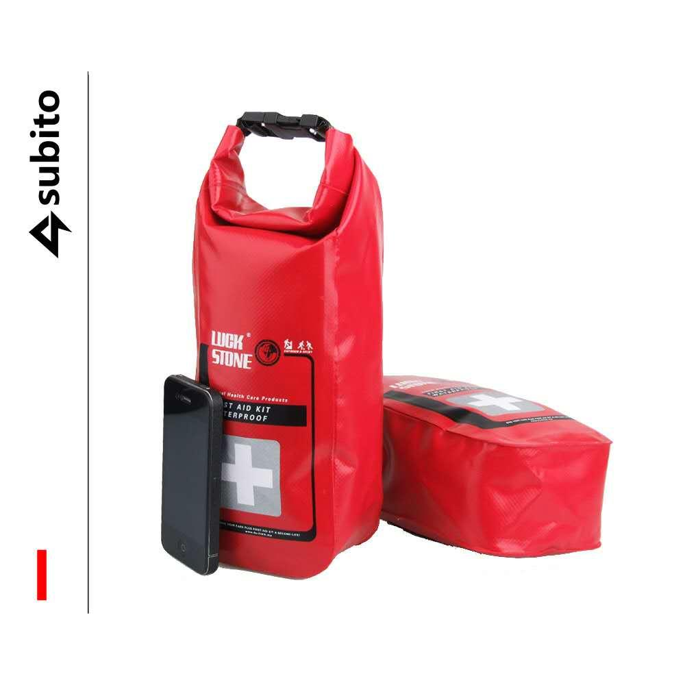 Rafting Boating IP67 Waterproof First Aid Bag Bandage Extractor Alcohol Supplies Hiking Outdoor Activity Rescuce Bag