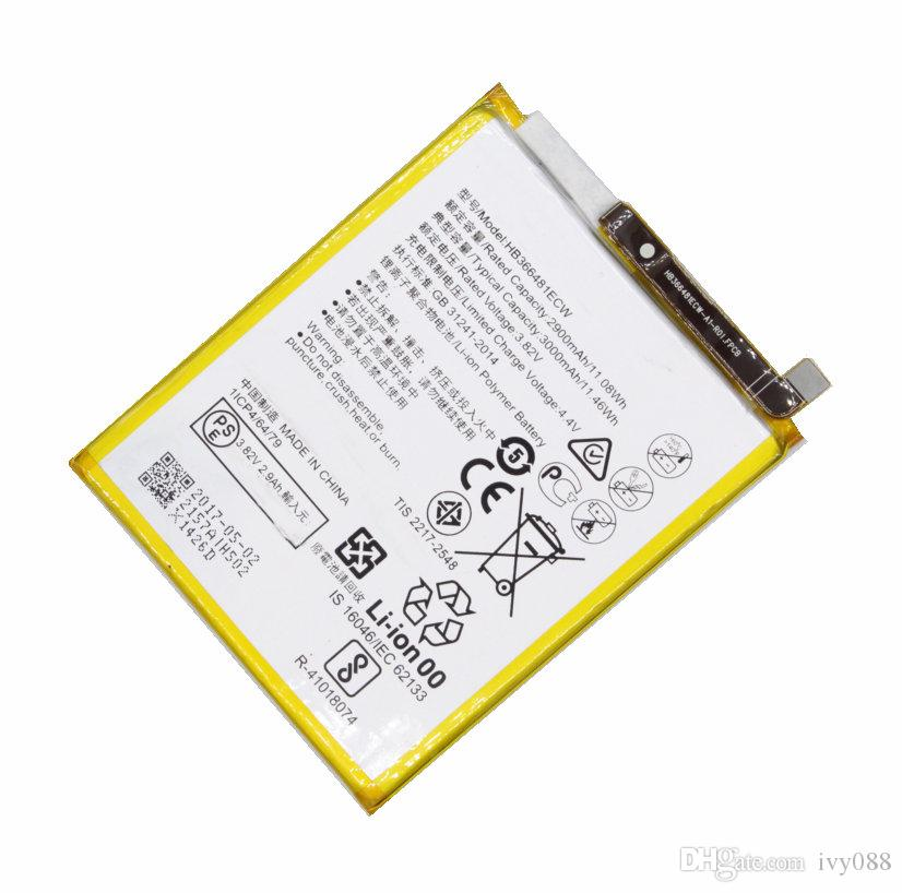 10 قطعة / الوحدة 3000 مللي أمبير HB366481ECW بطارية لهواوي p10 لايت p20 لايت p الذكية 5.6 ل نوفا لايت g10 WAS-TL10 WAS-AL00 WAS-LX1 WAS-LX1 WAS-LX