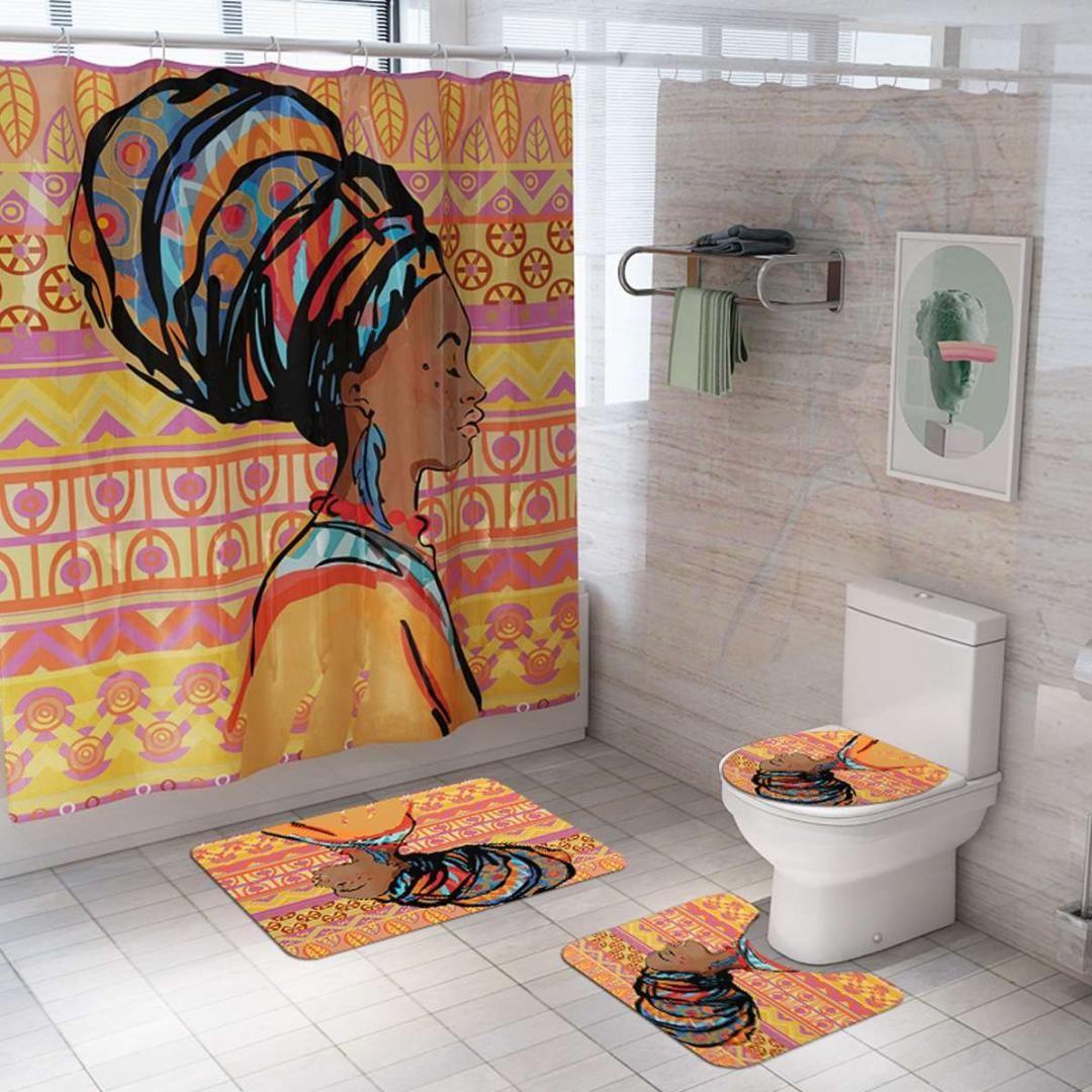 Bath Rug Non-Slip Carpet Bathroom Decor Mat Special Design NEW