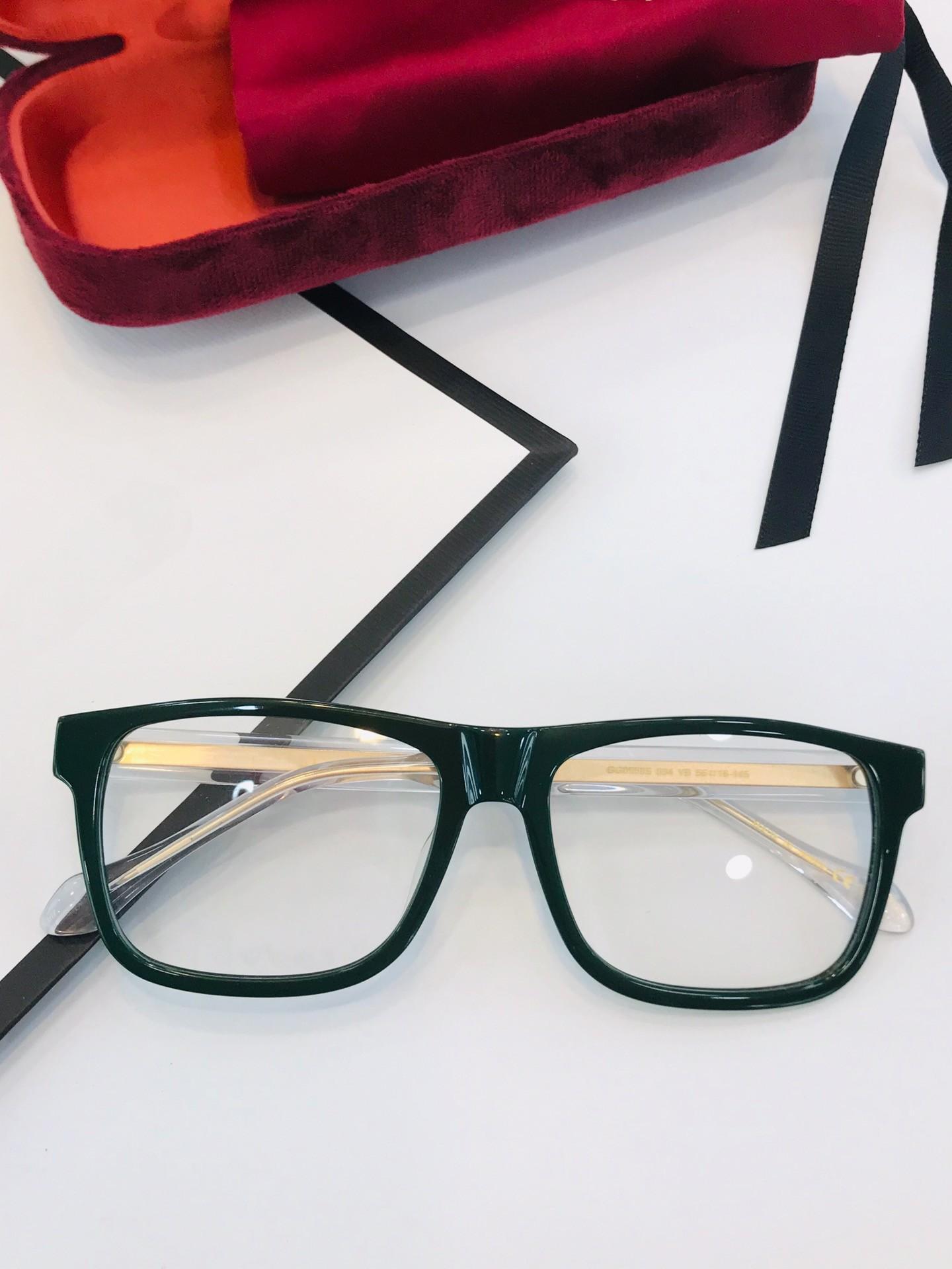 النظارات الجديدة إطار 0558 النظارات النظارات الإطار لإطار الرجال النساء قصر النظر نظارات عدسة واضحة مع صندوق أصلي
