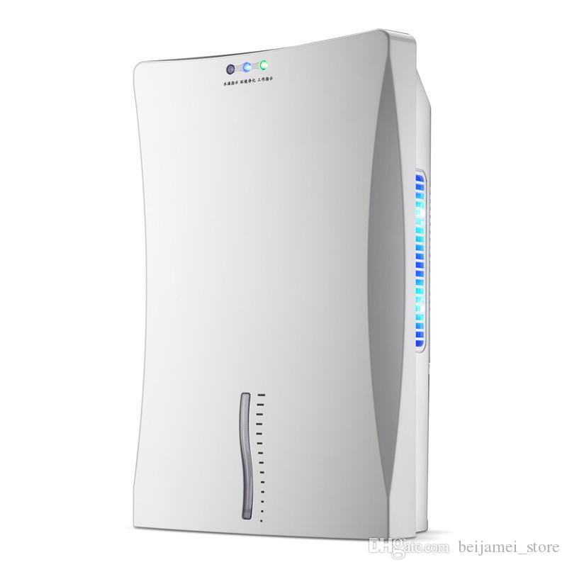 BEIJAMEI 2019 Wholesale 2.2L Capacity Wardrobe Dehumidifier Bedroom Small Electronic Semiconductor Air Dehumidifiers Home Appliances
