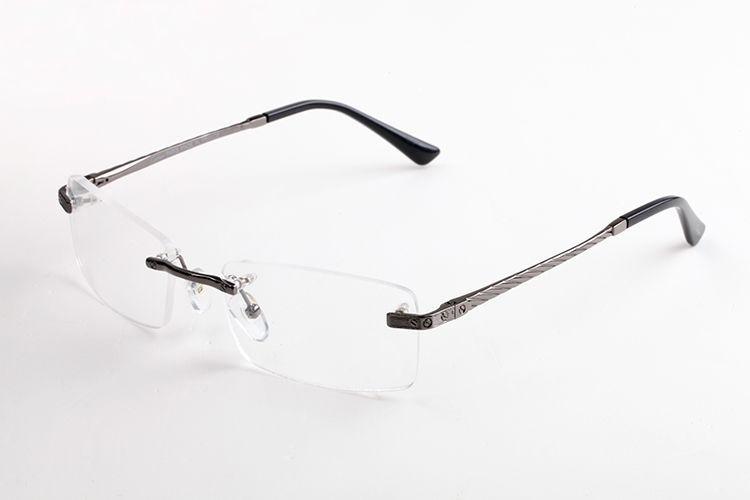 Novos óculos de sol da moda do vintage homens estilos Esporte sem aro qualidade mulheres superiores óculos de sol óculos de sol unissex com casos e gafas lunettes caixa