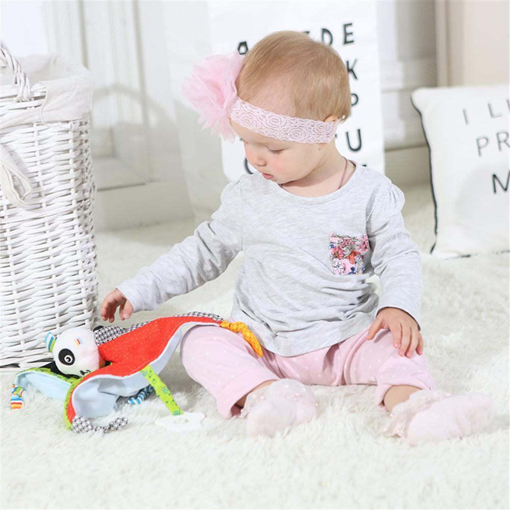 GLORYSTAR Neugeborenes Appease Handtuch Soothing Handtuch Babys Plüsch beruhigendes Spielzeug Sicherheitsdecke Cartoon weiche Handtücher Baby Comfort Spielzeug