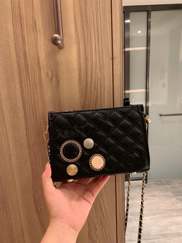 Die neue 2020 hochwertige Designer-Handtasche super weich einzelner Schulterbeutel Art und Weisebeutel, schöne Kette Tasche