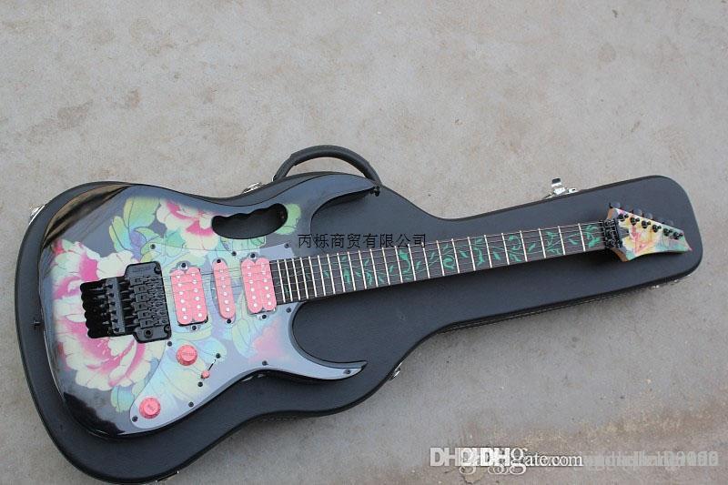 Livraison gratuite 2014 Nouveau style haut JEM 77FP2 Steve Vai Signature guitare électrique en stock