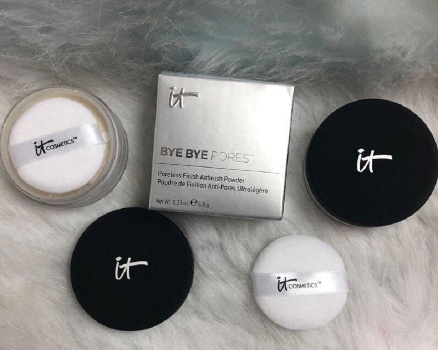2019In acción !! marca de cosméticos de maquillaje poros sin poros Acabado aerógrafo polvo 0.23oz 6.8g dropshipping de alta calidad