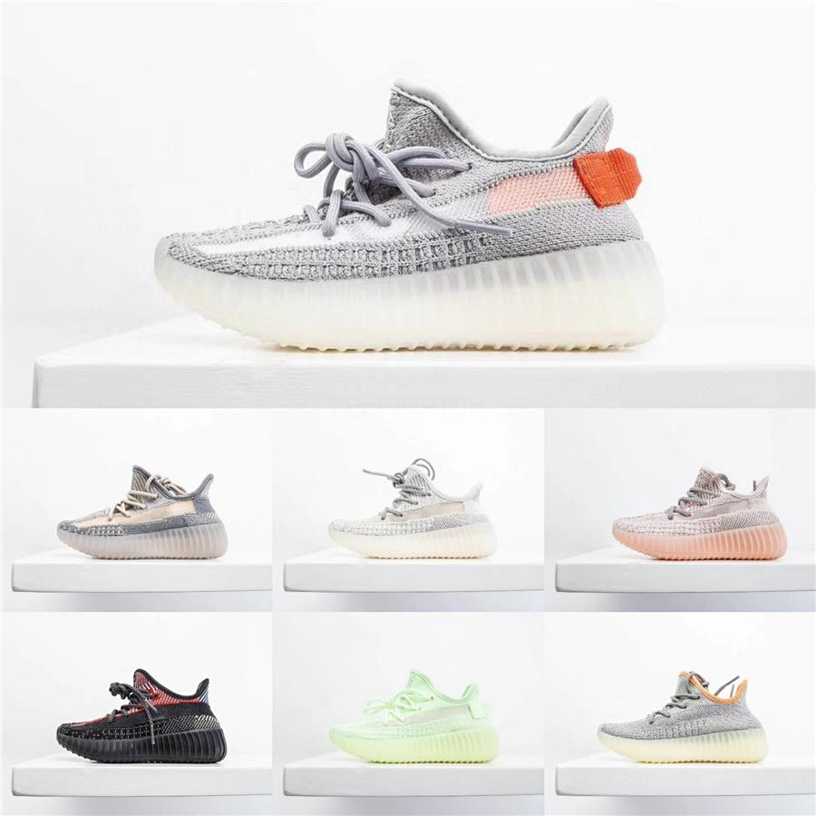 Designer Clay V2 Running Shoes Kids Kanye West Synth Lundmark Hyperspace True Form Trainer Sneakers Glow Gid#544