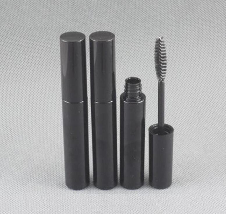 Vuoto fai da te 10ml nero crema trucco tubo mascara maquillaje ciglia siero bottiglie di crescita ciglia sopracciglia caso