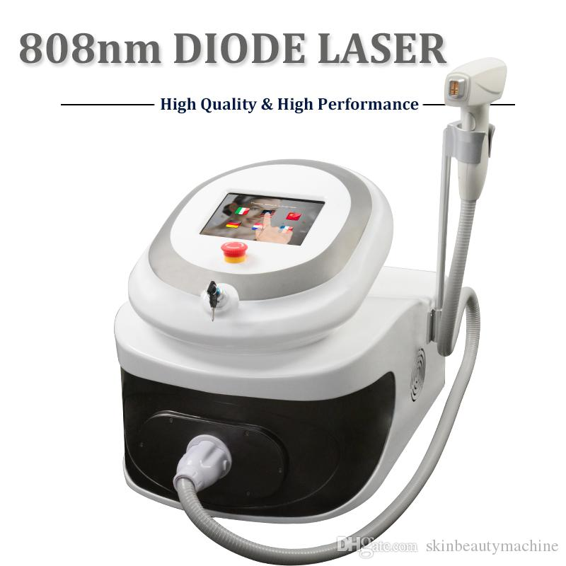 2018 Best Hair Removal Machine 808nm Diode Laser Equipment Remove