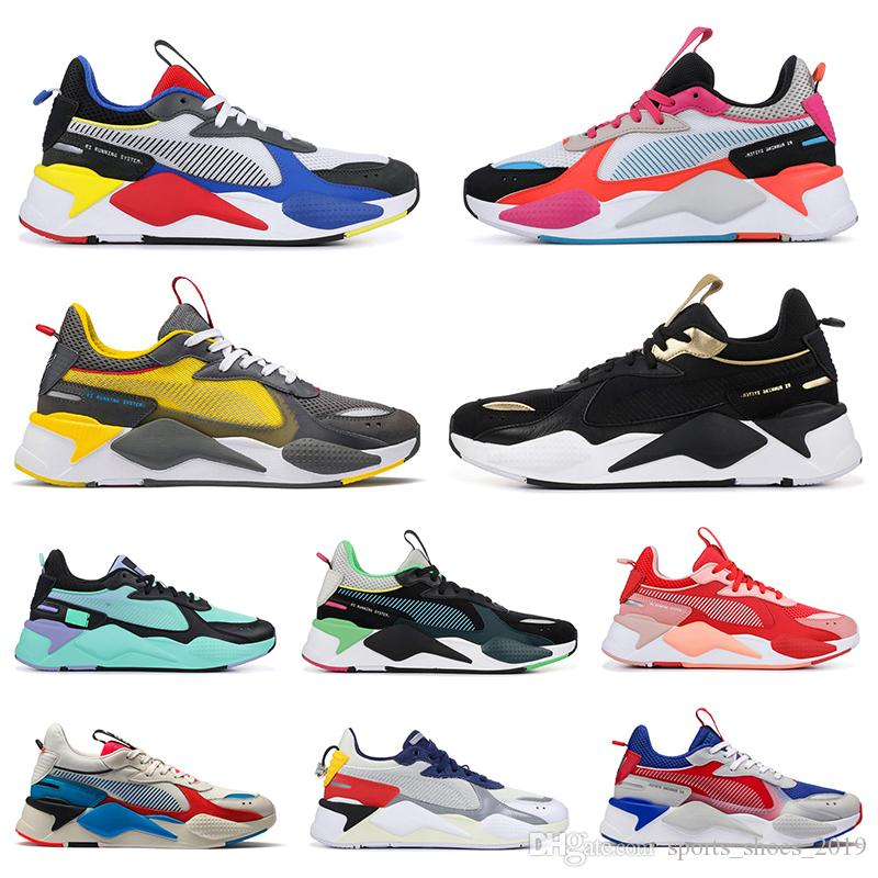 Mode puma rs-x reinvention toys transformers hommes femmes chaussures de course ATOLL FUCHSIA PURPLE baskets mode sport baskets taille 36-45