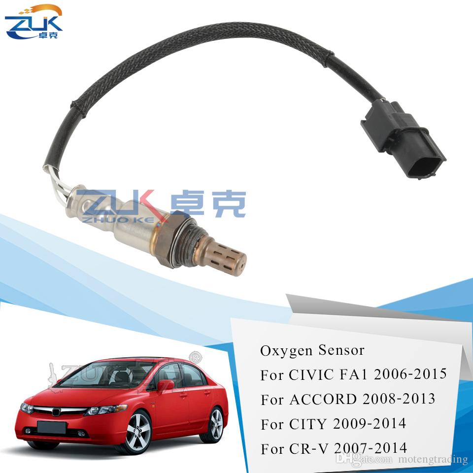 Ossigeno ZUK posteriore del sensore O2 lambda per Honda Civic 2006-2015 2014 per CRV 07-14 Per Accord 2008-2013 CITY 2009-2014