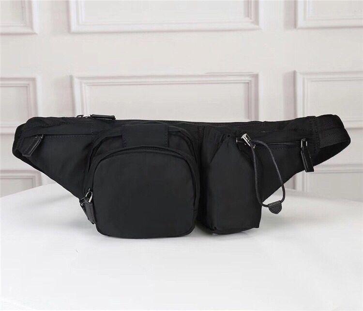 La cintura más reciente de la bolsa de bolsas bolsas de bolsas cruzadas hombres cruzados hombros impermeables cintura temperamento burbag cuerpo fanny pack hombres bumbag c puljs