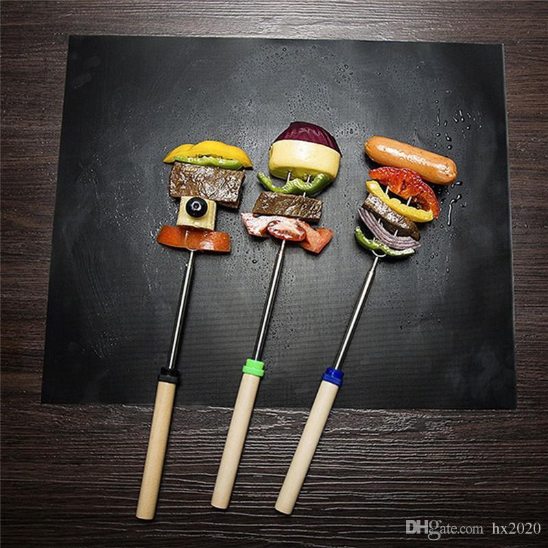 숯불, 가스, 전기 그릴 BBQ 도구에 대한 BBQ 그릴 매트 재사용 가능한 비 스틱 바베큐 베이킹 매트 시트 그릴 호일 BBQ 라이너 매트