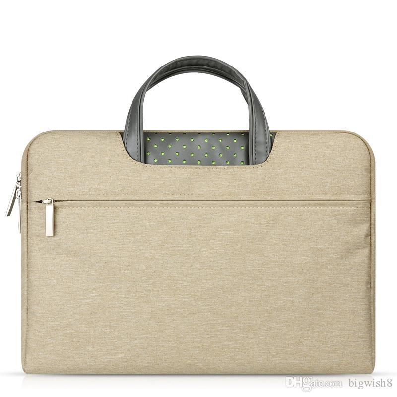 New arrival Shockproof handbag Sleeve Case for Macbook air pro11/12/13.3/15 Bag Pouch Cover Laptop Cases & Backpack