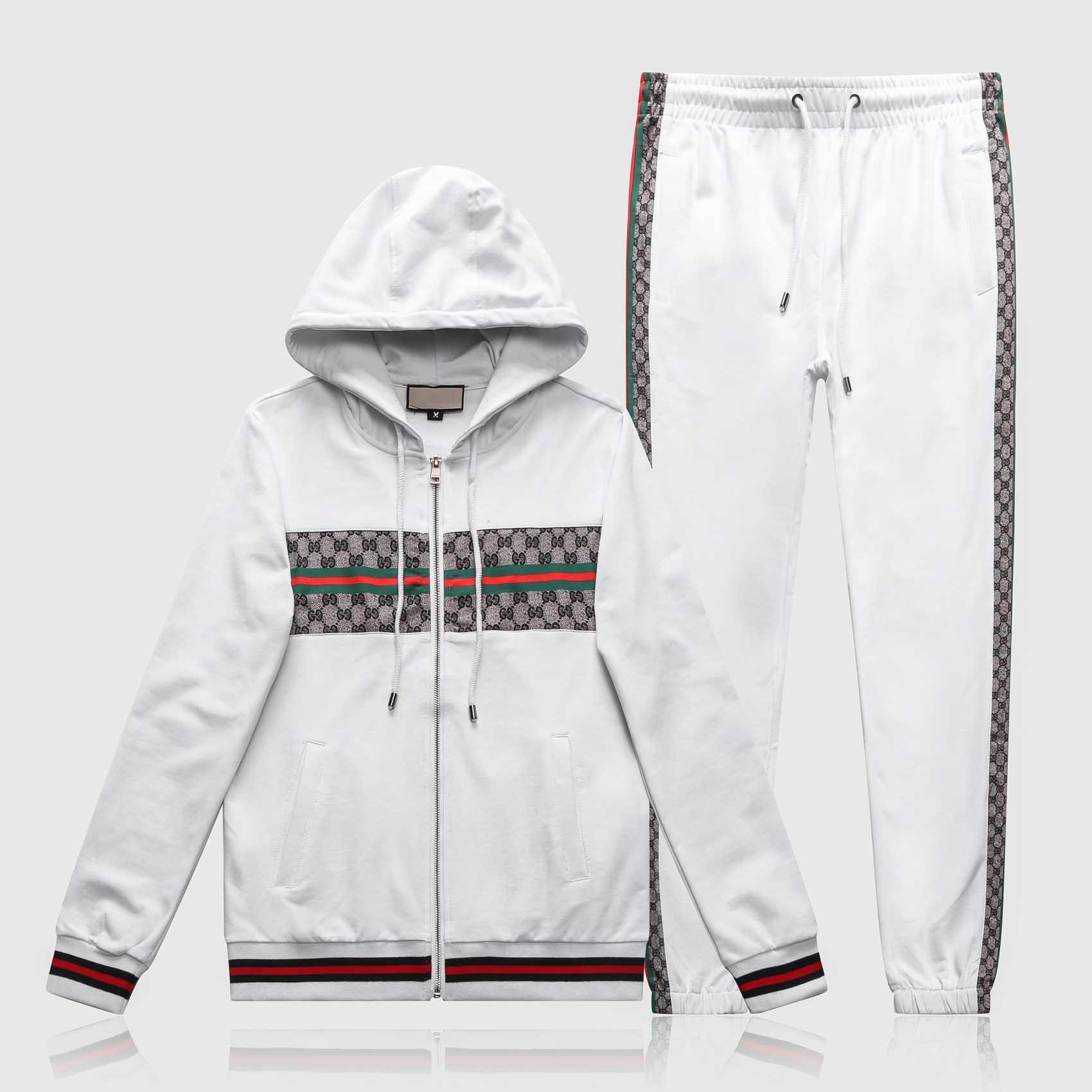 201819 Designer Anzug Männer Luxus Sweat Anzüge Herbst Markemens Tracksuits Jogger Anzüge Jacke + Pants Sets Freizeitfrauen Sport S