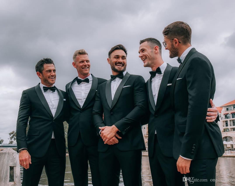 Yeşil Sıcak Slim Fit Erkek İş Takım Elbise Ceket + Pantolon 2 Parça Yakışıklı erkek Takım Elbise Bahar 2019 Düğün Takım Elbise Damat Ebelz Özel