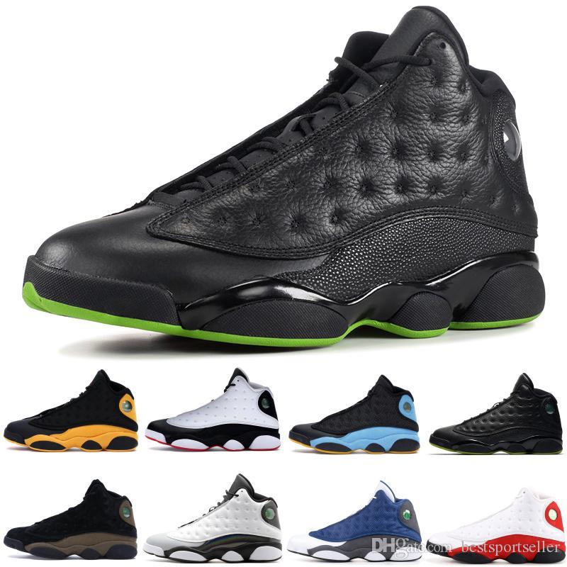 nike air jordon retro Lakers 13 13s nuovi arrivi scarpe da basket Atmosfera Grigio reale iper definendo momenti per gli uomini Volo Atletica Sport Sneakers