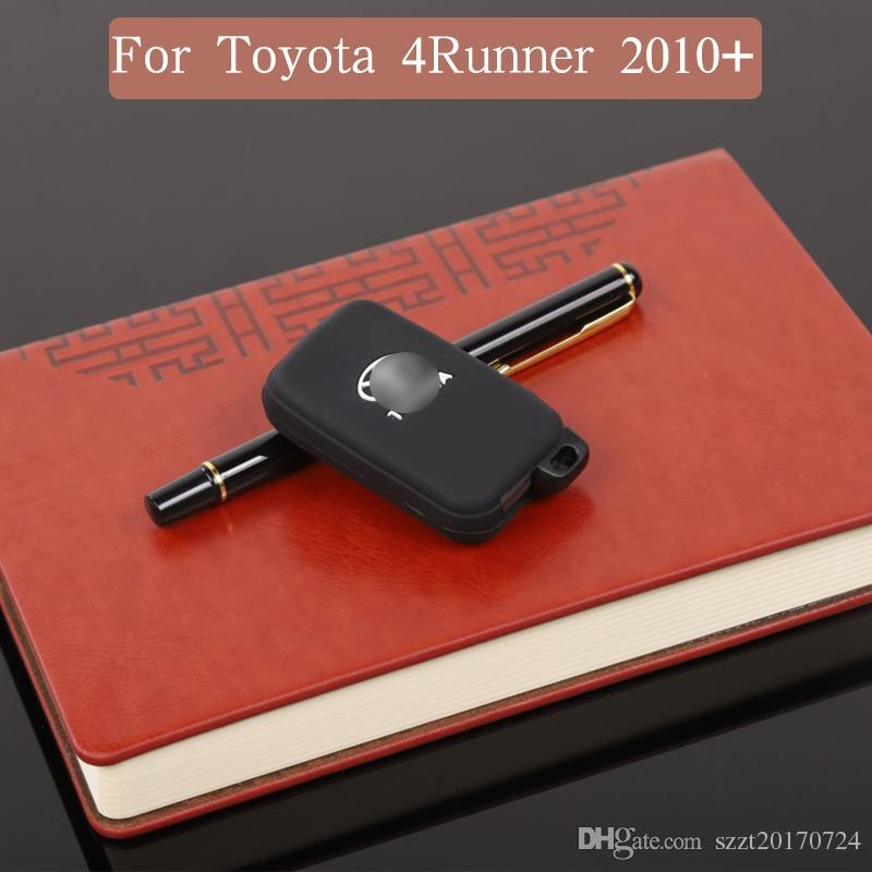 Car Key Rubber Sleeve Car Key Protection for Toyota 4Runner LIMITED Configuración 2010+ Accesorios para interiores de automóviles