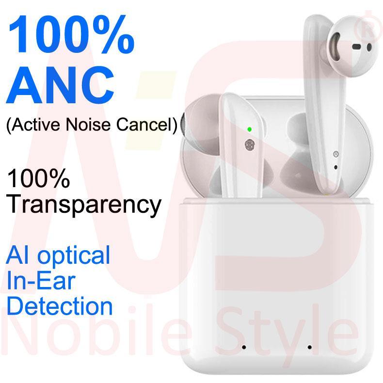 ANC الضوضاء نشطة إلغاء i7 من AP2 AP3 البسيطة TWS بلوتوث سماعات الأذن H1 رقاقة لاسلكية الشحن حالة البصرية في الأذن كشف حاضن PK I9 الهواء 2 3 برو