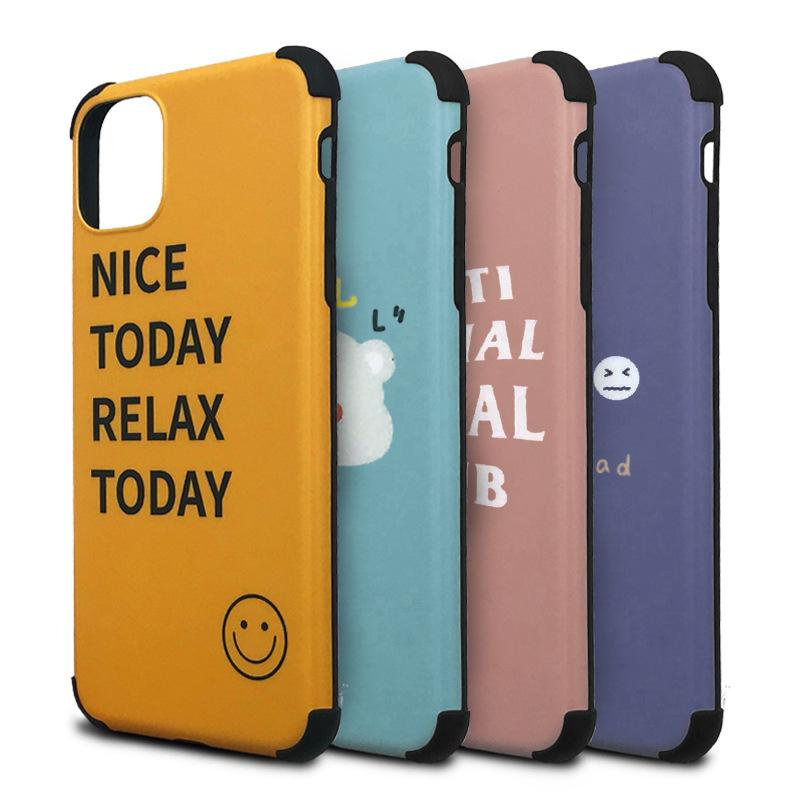 Fashion cartoon Print IMD Phone Case For iPhone 11 Pro X XR XS MAX Luxury Soft Case For 6 7 8 Plus