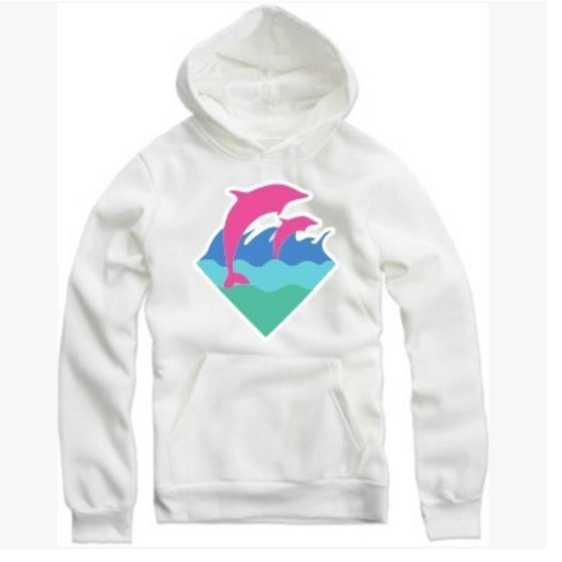 Fashion-ter Men Fashion Clothing Pink Dolphin Hoodies Sweater For Men Hiphop Sportswear Wholesale M-4XL