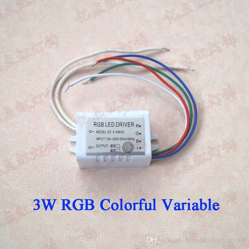 RGB LED سائق التحكم عن بعد عالية الطاقة LED 3W-36W السائقين الحالية ثابت RGB محرك التيار الكهربائي عن أضواء LED النازل