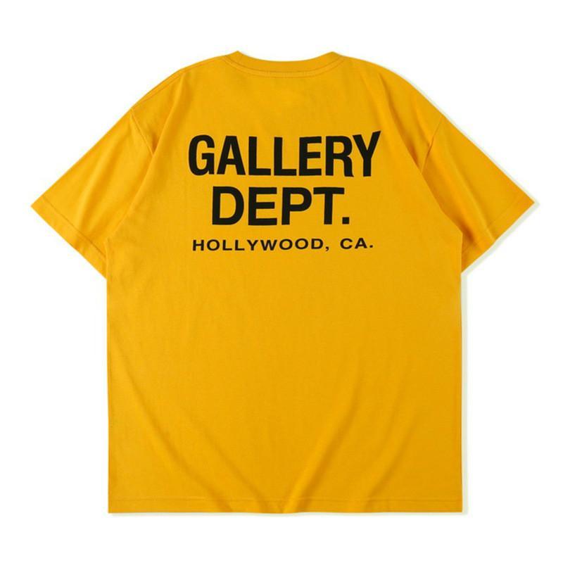 Estados Unidos 2020 nuevo lujo de ropa para hombre del diseñador de la camiseta casual salvaje simple simple floja impresión de la letra ocasional de los hombres y mujeres de algodón Marca corto