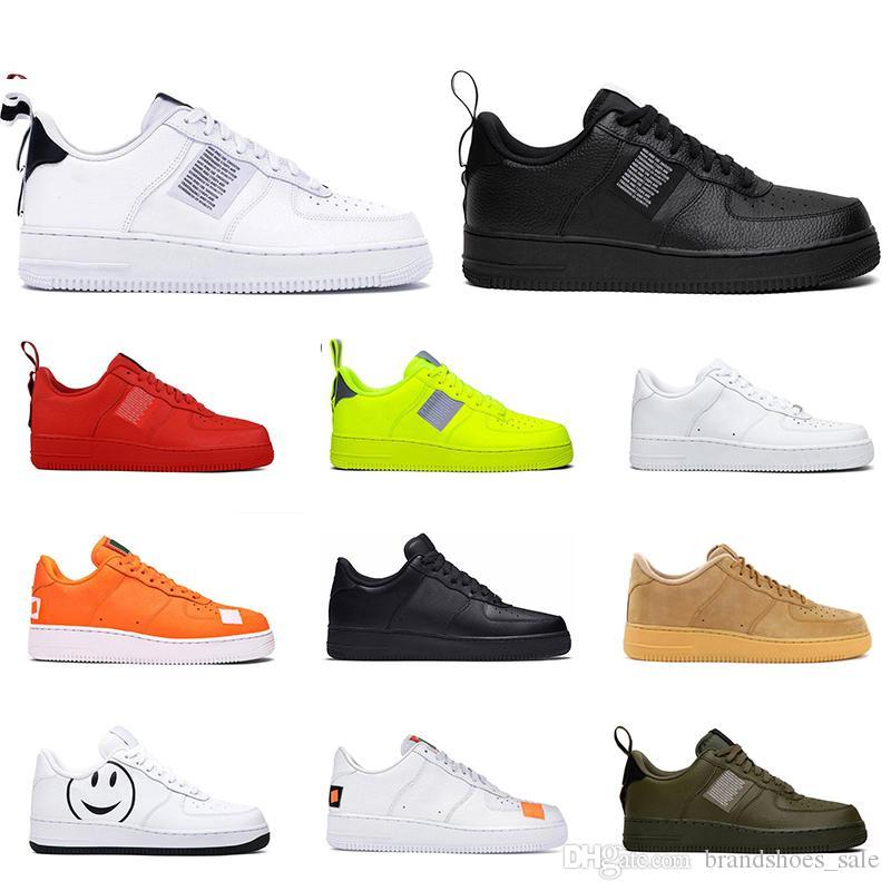 Новая мода Dunk Утилита черный белый оранжевый пшеница с низким вырезом Скейтборд повседневная обувь мужские кроссовки спортивные кроссовки размер 36-45