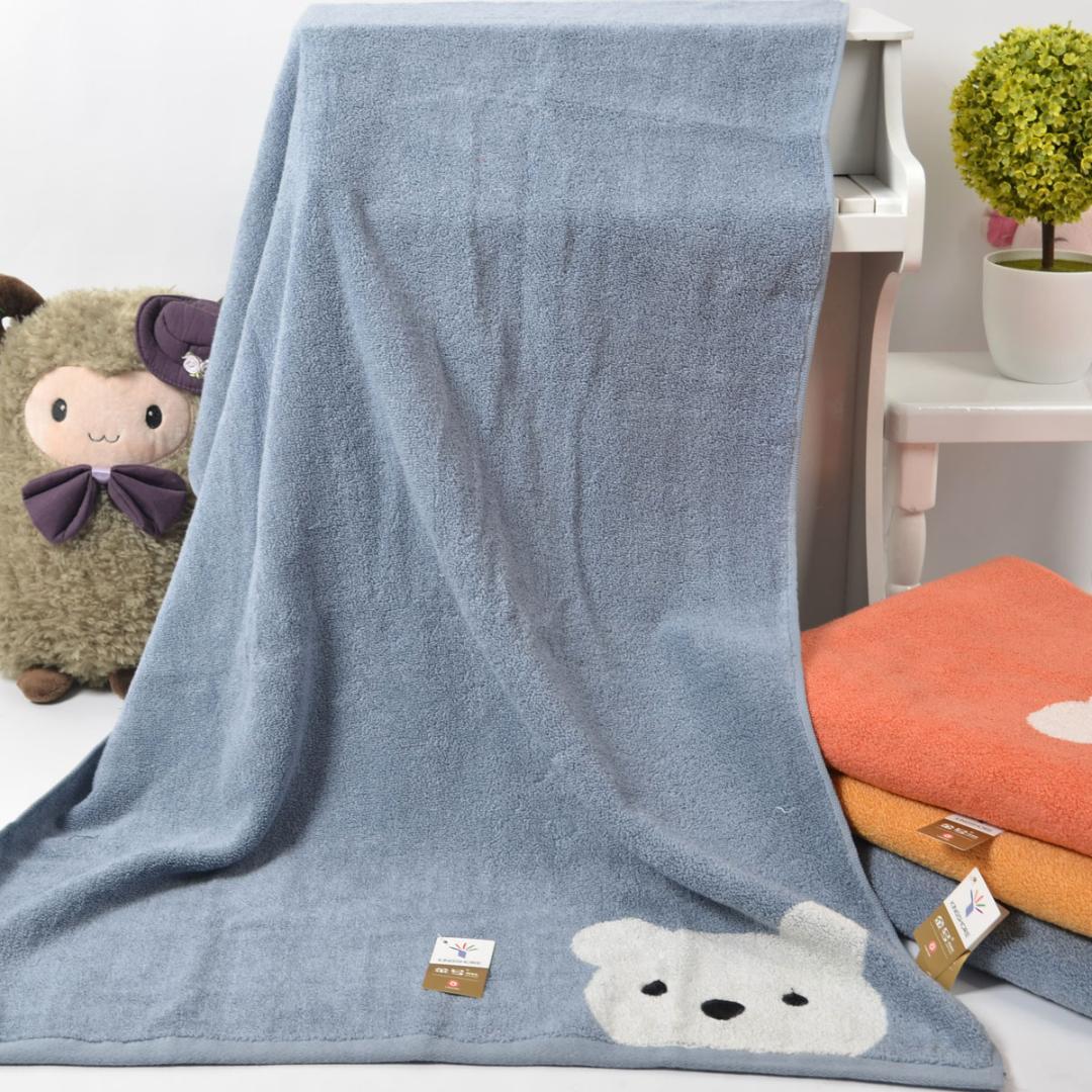 Großhandel Baumwolle Badetuch 5 Preis ohne Twist-Garn-Technologie, um weiche komfortable Wasseraufnahme gut erschwinglich zu machen