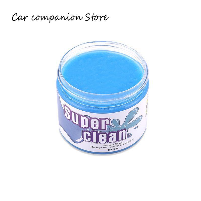 160 g de pegamento para limpieza de automóviles, limo, portavasos para automóviles, gel de gelatina pegajosa, limpiador de polvo para limpiaparabrisas