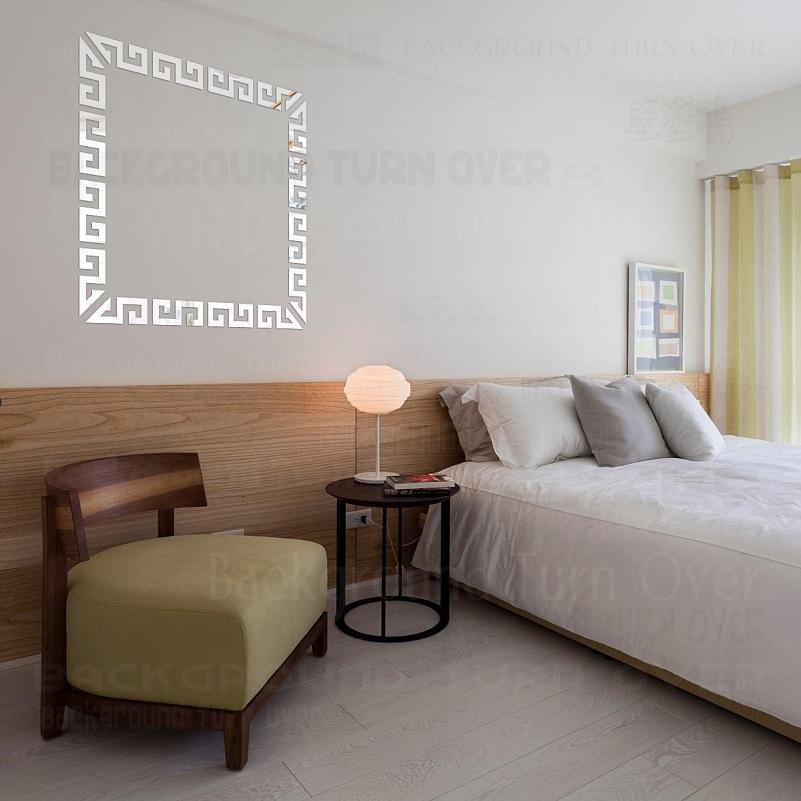 Mirror Wall Stickers Bedroom Decor Room Decoration House Aesthetic Living Accessories Bathroom Sticker Square Border Frame R038 T200608 Cheap Wall Decals Cheap Wall Decals For Kids From Xue009 14 2 Dhgate Com