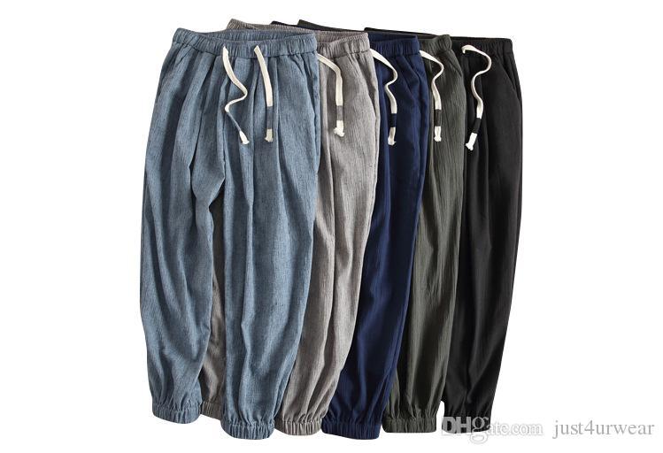 Gli uomini allentati sportivo Palestre Jogger 10 pezzi Pantaloni di tuta della chiusura lampo Skinny Pantaloni sportivi Pantaloni pista Pantaloni Casual Fitness Pantaloni