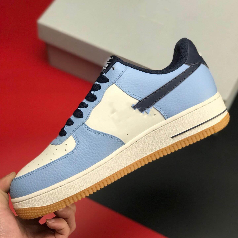 Nike Air Force 1 esportes de marca calçado desportivo tênis de basquete masculino dos homens brancos UNC das mulheres cinta tênis novo pp