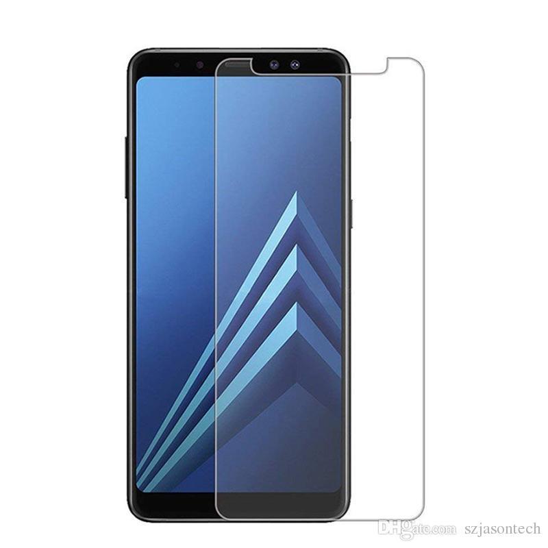 Pellicola protettiva per schermo in vetro temperato 9H Premium per Samsung Galaxy A9 S9 Note7 con confezione