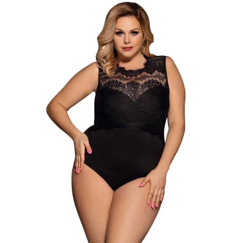ropa interior de lujo de la mujer ropa interior atractiva de las mujeres del diseñador de la ropa interior de los underwears sexe 5XL Hembra cordón de las mujeres ropa de dormir pijamas conjuntos más el tamaño 80472