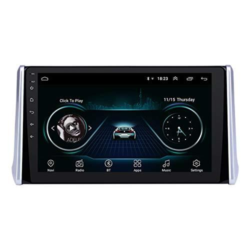 10,1-Zoll-Android 9.0 GPS-Auto-Multimedia-System für 2019 Toyota RAV4 mit AUX Bluetooth MUSIC Unterstützung Nerz Link OBD II Rückfahrkamera