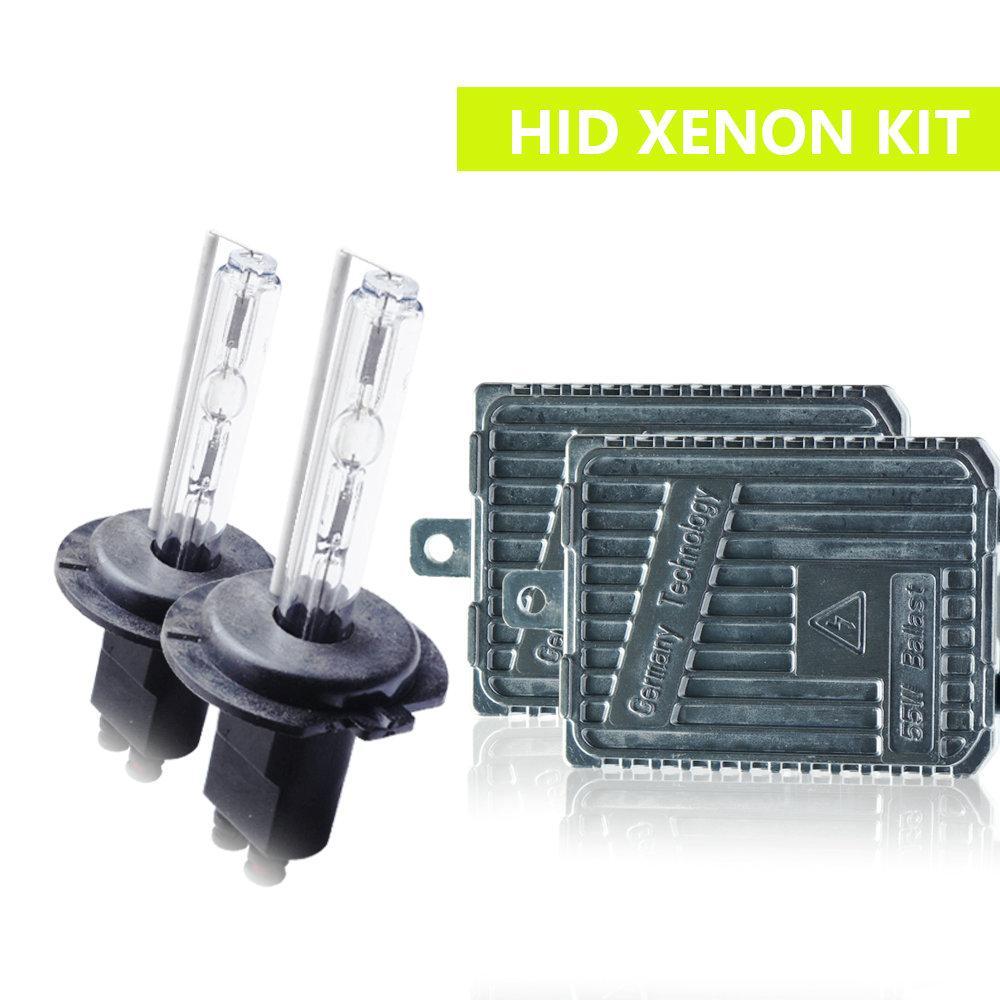 H1 H3 H7 H8 / H9 / H11 9005/9006 880/881 H4 Привет / низкий би ксенон 55W HID Xenon комплект лампы автомобиля 12V фары противотуманные фары 3000K4300K6000K8000K