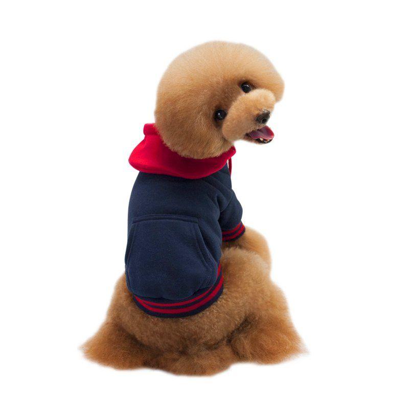 vêtements pour chiens animaux Veste à capuche hiver chaud manteau Tricots Jumper Costume Pull