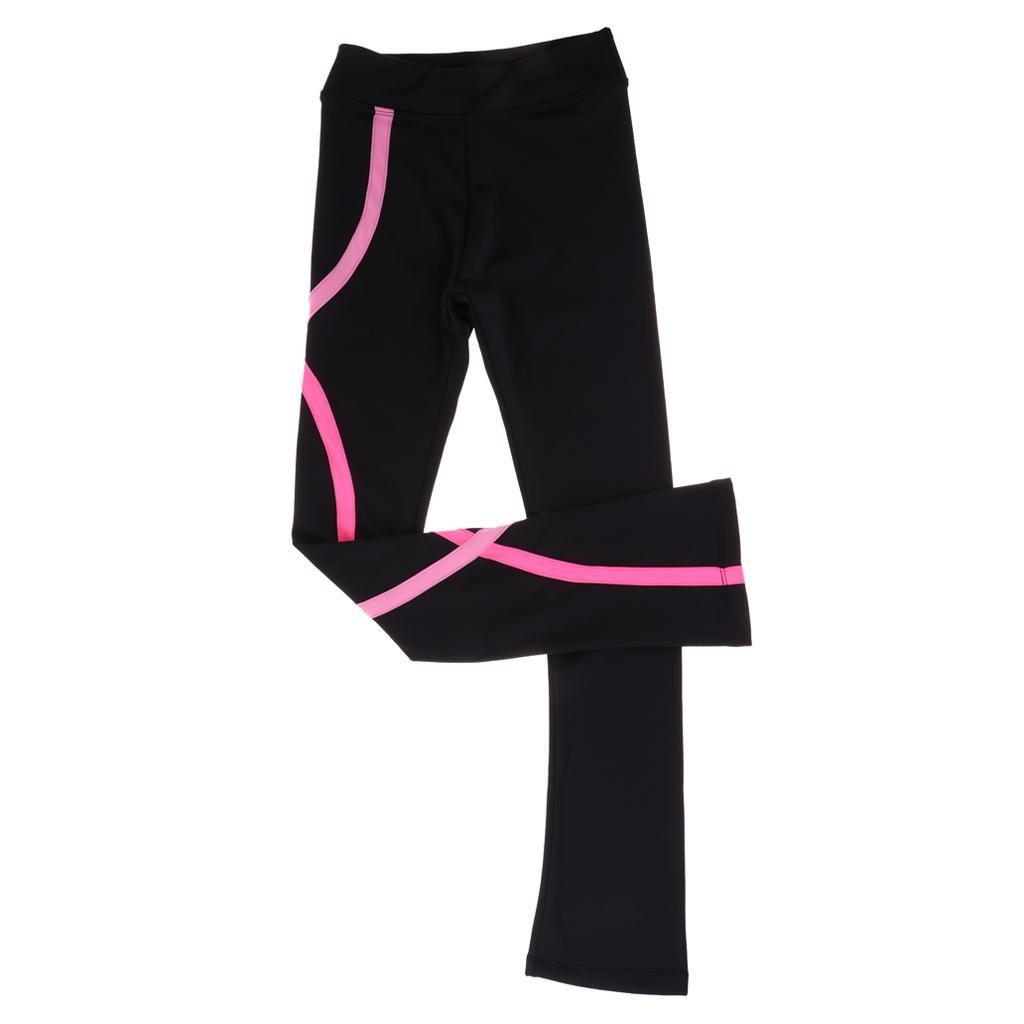 Compre Figura De Hielo Vestido De Patinaje Pantalones Pantalones Pantalones Girls Mujeres Skate Follets Tastics Leggings A 21 62 Del Tishita Dhgate Com