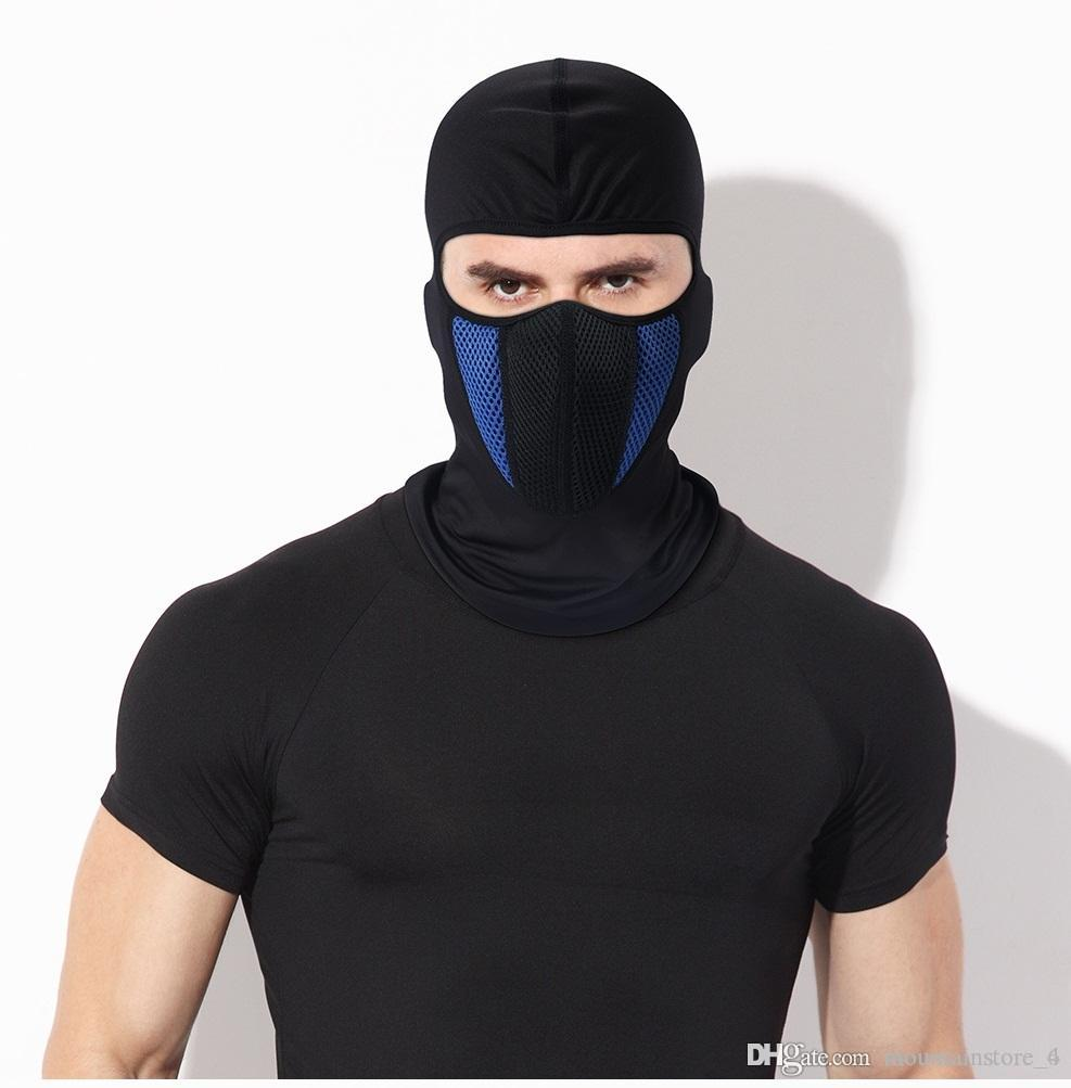 MOTORBIKE OVER TROUSER WATERPROOF 1 Hole Balaclava Paintball Under Helmet Lightweight Full Face Breathable Warm Ski Motorcycle Cycling Running Hiking Wind Protection