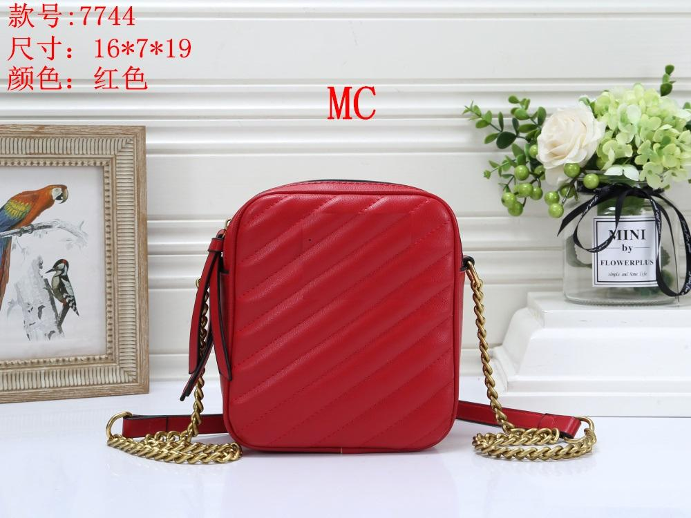 2019 Arten Designer-Handtasche berühmte Namen Mode Lederhandtaschen-Frauen-Schulter-Beutel der Dame-Leather Handtasche Geldbeutel 7744