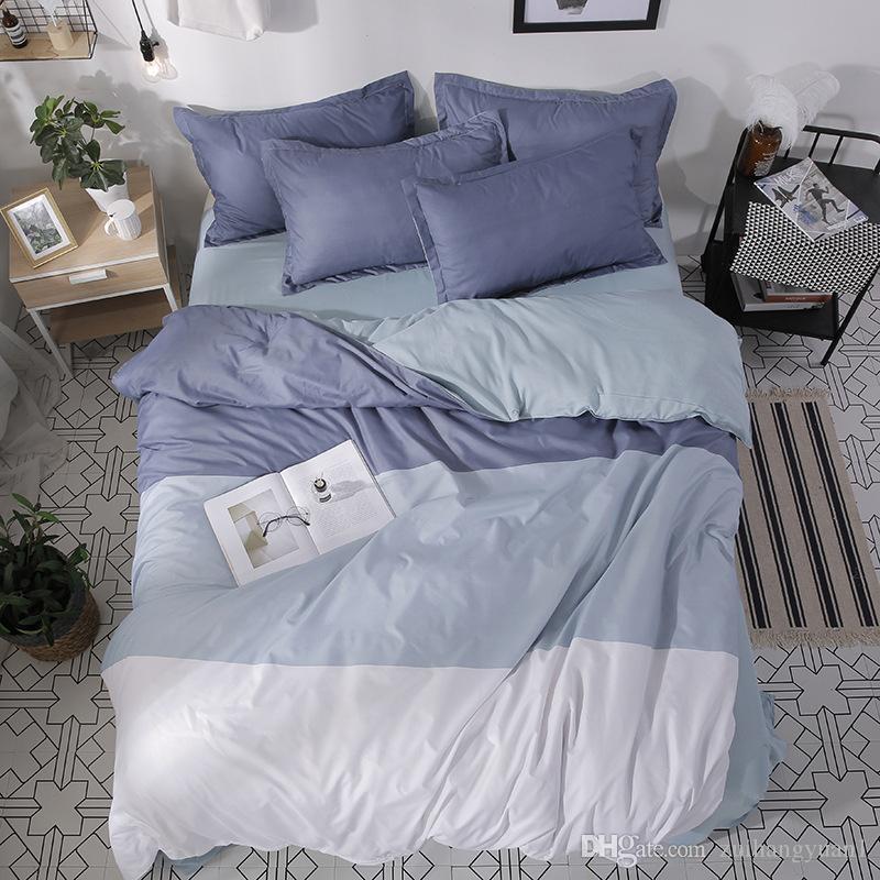 Yatak Seti Nevresim Nevresim Nevresim Yatak örtüsü Yorgan Kapak Yatak Keten Pamuk Housse De Couette Yatak Setleri