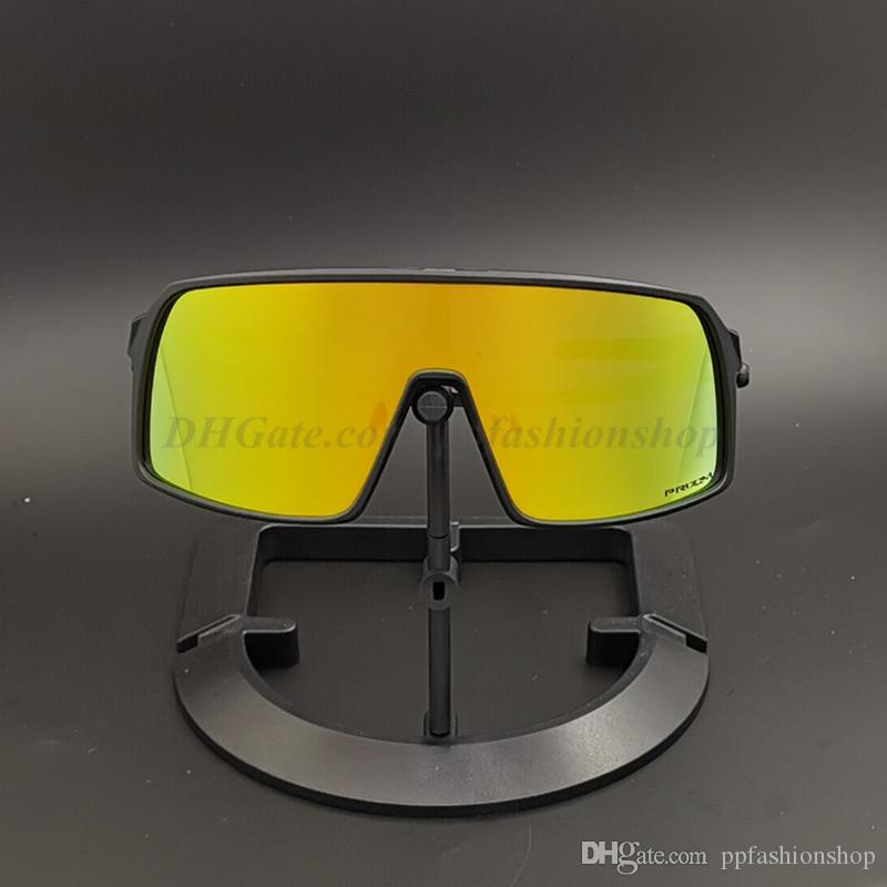 Полный пакет Новый бренд Sutres поляризованные очки Велоспорт Мужчины Женщины велосипед золото Велосипед Спорт 09406S 3 пары линз Велоспорт Солнцезащитные очки с футляром
