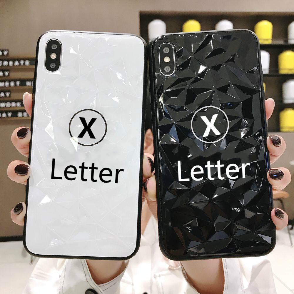 Marca de lujo iPhoneXSMAX XS XR X caja del teléfono móvil 7plus / 8Plus 7/8 6 / 6s 6p / 6SP elegante teléfono móvil de la caja 2 de diamantes estilo-3