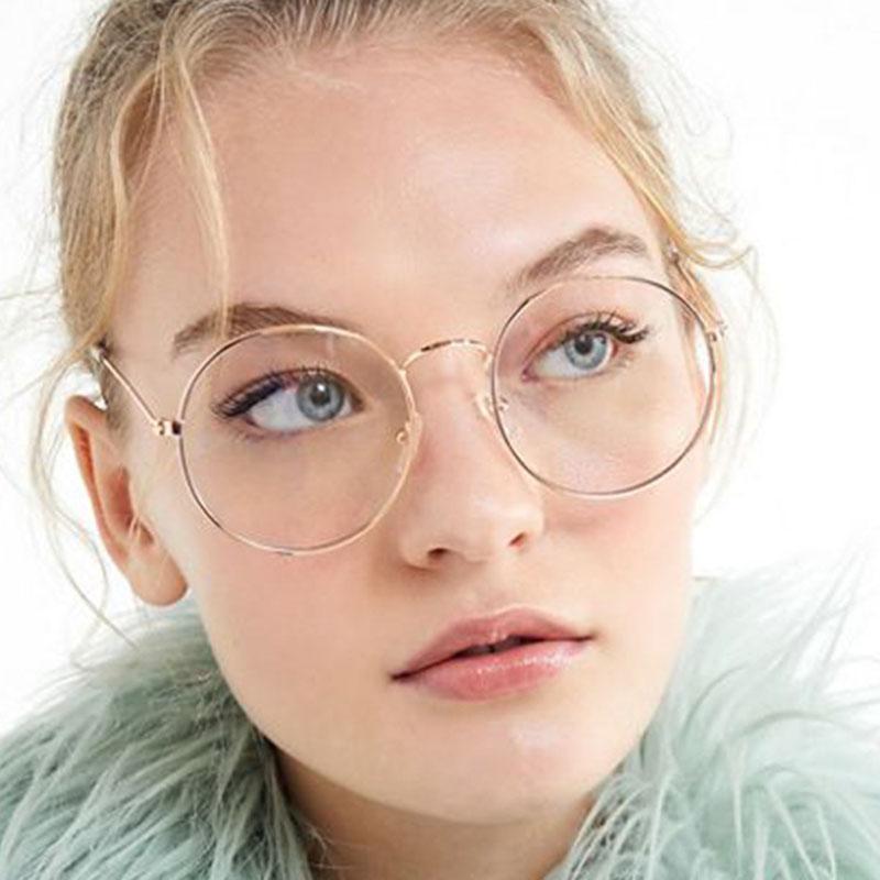 2019 Vintage Round Sunglasses Women Ocean Color Lens Mirror Sunglasses  Female Brand Design Metal Frame Circle Glasses Oculos 4989fb1df1