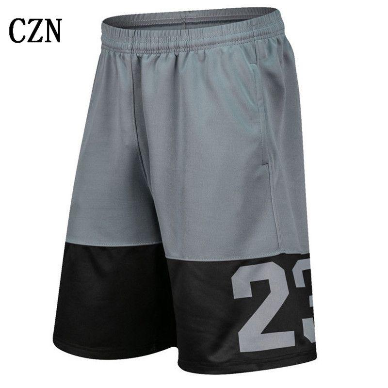 Pantalones para hombres modelos de verano pantalones cortos deportivos de marca retro pantalones de la manera clásica laterales cortos de algodón de gran tamaño corredores de playa estándar hombres DK-03