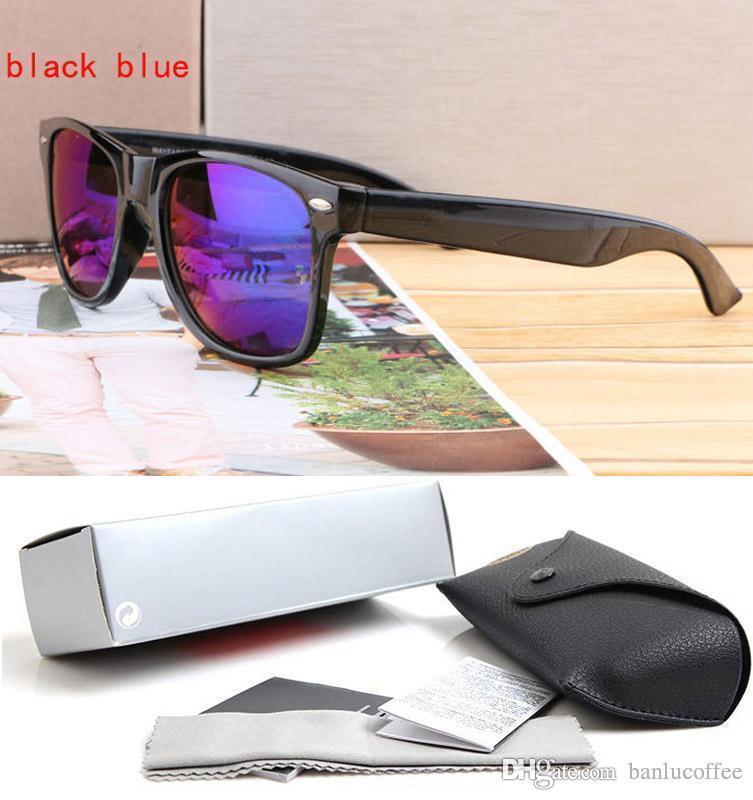 Lunettes de soleil des femmes des hommes Evidence Lunettes de soleil Designer Black Frame lunettes lunettes viennent avec et étui chiffon de nettoyage de haute qualité