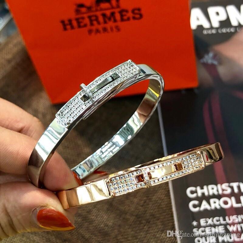Элегантные женские браслеты INS Стиль Девушки Алмазный сверкающих браслет женщин Стильный Bohemian ювелирные изделия подарок для друзей